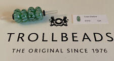 Authentic Trollbeads Glass 61410 Green Shadow  (was$34) E18