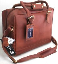 Quality Full Grain Cow Hide Leather Shoulder Bag with Adjustable Strap.81012