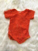 NEW Baby Girl Lace leotard Bodysuit Photo Prop Size 0-6-6-12-18-24 months