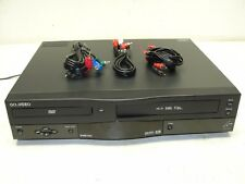 GO VIDEO DVD CD Player / VCR VHS Recorder Dual Deck  DVR5000  TESTED