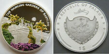 2009 Palau Large Proof color $1 World Wonders-Hanging Gardens of Babylon
