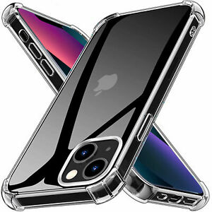 Clear Shockproof Bumper Case For iPhone 13 12 Pro Max Mini 13 Pro XR XS 8 7 11
