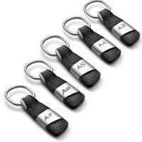 Genuine Car Leather Keychain Keyring for Audi A3 A4 A5 A6 A7 Q3 Q5 Q7 Key Chain