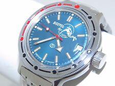 Man's Fashion VOSTOK Russian military Amphibian diver 200m. auto watch. 420059