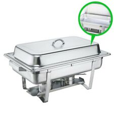 SOGA Full Size Stainless Steel Chafer Dish Buffet Warmer Tray