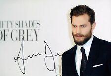 Jamie DORNAN SIGNED Autograph Christian GREY 50 Shades of Grey Photo 1 AFTAL COA