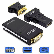 Zettaguard USB 2.0 to VGA / DVI / HDMI Multi Display / Video Graphics Adapter