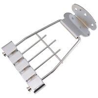 1 Set Guitar Bridge Tailpiece Trapeze w/ Screw Semi Hollow for Electric Bass