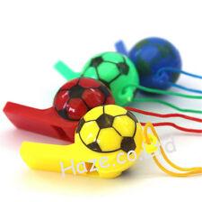 Jouets pour Filles & Garçons Football En forme de Sifflet Avec Cou Corde 2pcs