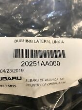 Subaru Outback Forester Legacy WRX Impreza OEM Lateral Link Bushings (2) 1 Pair