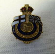 Junior Imperial & Constitutional League Enamel Badge