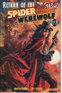Return of the Monsters: The Spider vs. Werewolf #1 VF/NM; Moonstone | save on sh