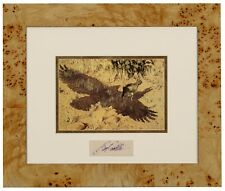 Bev Doolittle ESCAPE BY A HARE  Matted & Framed with Original Artist Signature