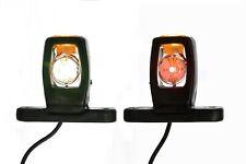 2x 12v hinten LED Marker Begrenzungsleuchte Fahrgestell LKW Anhänger
