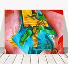 "JUAN GRIS Art - Violin & Glass CANVAS PRINT 12x8"" - Cubist, Cubism, Music"