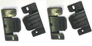 4x Plastic Connector CLIPS PLATE BRACKET JOINT DIVAN BED SOFA SUITE FREE SCREWS