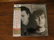 Tears for Fears - Songs from the Big Chair - Japan Mini LP SHM CD UICY-94430/1