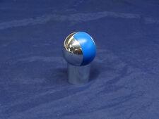 ZENDER POLISHED ALLOY & BLUE GEAR KNOB FOR MANUAL SHIFT BMW E36 E46 E34 E39