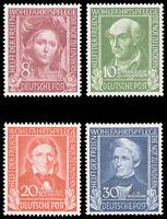 Germany #B310-B133 MNH CV$125.00 1949 WELFARE SET ex Perfectum