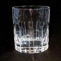 1 (One) ROYAL CRYSTAL ROCK (RCR) Cut Crystal Old Fashion Glass - Signed