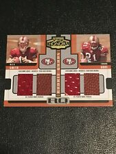 2005 Playoff Honors Rookie Quads Jersey / Ball #RQ-1 Frank Gore Alex Smith /25