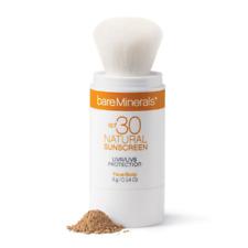 bareMinerals SPF30 Natural Sunscreen UVA/UVB Face/Body MEDIUM 4g (Boxed)