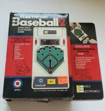 Vintage 1979 Entex Electronic Baseball 2 Handheld Video Game - Complete