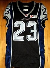 * MONTREAL ALOUETTES CFL * #23 Jerome Messam Alternate Game Worn Sewn Jersey