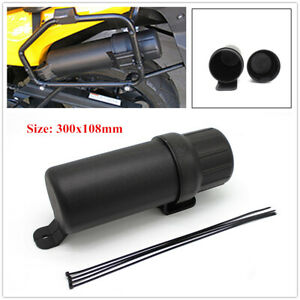 Black Motorcycle Tool Capsule Cycling Tool Storage Bag Accessories for Honda BMW
