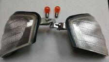 1994-2000 Mercedes Benz C-Class W202 Clear Corner Lamps (with bulbs)