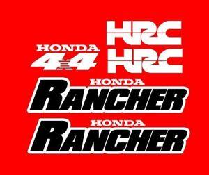 Honda Rancher S ES Stickers Decal Emblem Kit 2000-2006 350 TRX