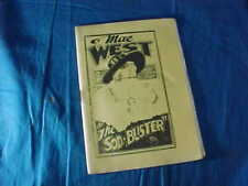 1930s TIJUANA BIBLE RISQUE Comic Book MAE WEST In The SOD BUSTER