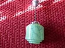 Art Deco Lampe Deckenlampe Pat de Verre Lampe Original ca. 1925
