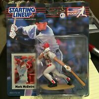F59 2000 MARK MCGWIRE CARDINALS Starting Line Up NIB FREE SHIPPING