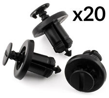 20x Bumper Wheel Arch Lining Trim Clips 7703072360 for Renault Clio Espace