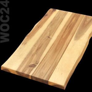 AKAZIE Holz Servierbrett 45 x 27 Servierplatte Schneidebrett Akazien Buffetbrett