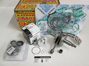KAWASAKI KX 80 HOT RODS ENGINE REBUILD CRANKSHAFT, PISTON, GASKETS 1998-2000