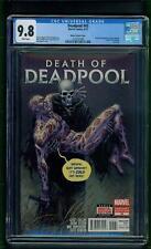 Deadpool #45 (2015) CGC Graded 9.8 ~ Death of Deadpool  Tony Moore Variant Cover