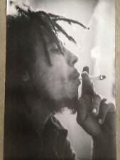 "Bob Marley 23.5""""x34""poster print - reggae music, smoke NEW"