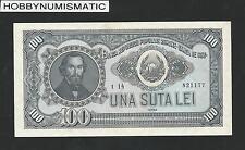 ROMANIA   100   LEI   1952   XF