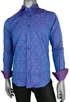 Men's Summer Designer Slim Fit Casual Long Sleeve Dress Shirts