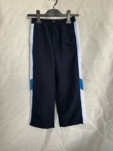 Boys. George. Navy Blue, Shell Tracksuit Trouser Bottoms. UK Size/Age 5-6 Years