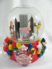 2001 Macy's Thanksgiving Day Parade Musical Water globe Twin Towers NY Snowglobe