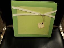"THE PERFECT SCRAPBOOK FOR BABY BOY 8X8"" Green Cover"