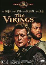 THE VIKINGS DVD=KIRK DOUGLAS= REGION 4 AUSTRALIAN RELEASE=BRAND NEW AND SEALED