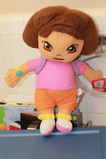 NICKELODEON NICK JR CLASSIC DORA THE EXPLORER WITH BACK PACK PLUSH 12 INCH