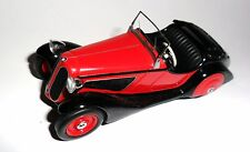 BMW 315/1 Cabrio Cabriolet Corniche in schwarz/rot black/red, Schuco in 1:43!