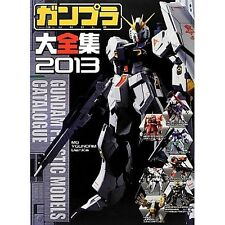 Gundam Model Kit Perfect Book 2013 Gundam Plastic Model Catalogue Japanese