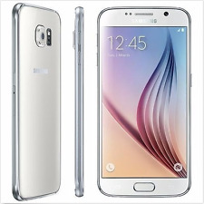 Blanc Samsung Galaxy S6 G920V 3GB RAM Android32GB 16MP Unlocked 4G LTE Téléphone