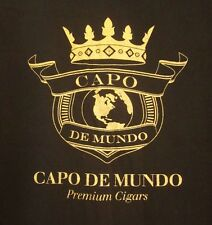 CAPO DE MUNDO tee XL Premium Cigars crown logo T shirt maduro Pennsylvania smoke